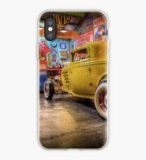 Hot Rod Garage 3 iPhone Case