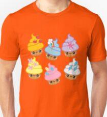 my little pony kawaii cupcakes mane six T-Shirt