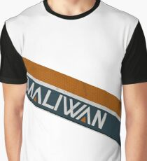 Borderlands Maliwan Logo Graphic T-Shirt