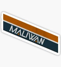 Borderlands Maliwan Logo Sticker