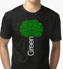Green Tree II Tri-blend T-Shirt