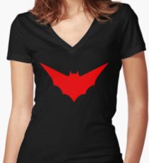Batwoman Women's Fitted V-Neck T-Shirt