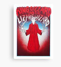 king gizzard Canvas Print