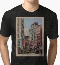 579 The New York Stock Exchange Tri-blend T-Shirt