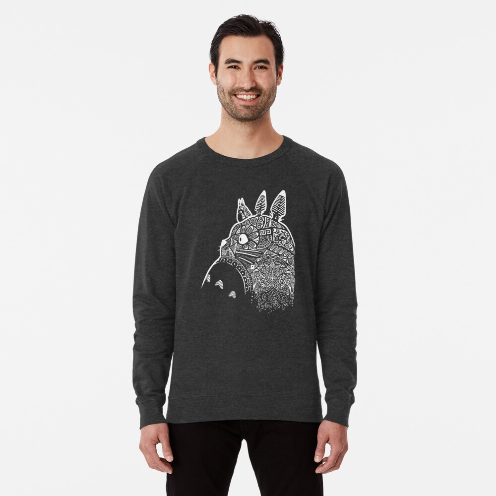 Graphic Totoro Lightweight Sweatshirt