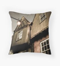 ..somewhere in York.. Throw Pillow
