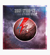 [SPACE ROCK LEGENDS!] A Starman with Mars Spiders Photographic Print