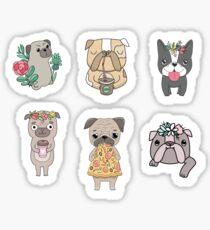 Dogs stickers Sticker