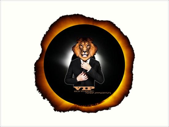 Solar Eclipse 2017 Sun Moon Leo Lion VIP Celebrity August 21 by aliciaperrone
