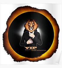Solar Eclipse 2017 Sun Moon Leo Lion VIP Celebrity August 21 Poster