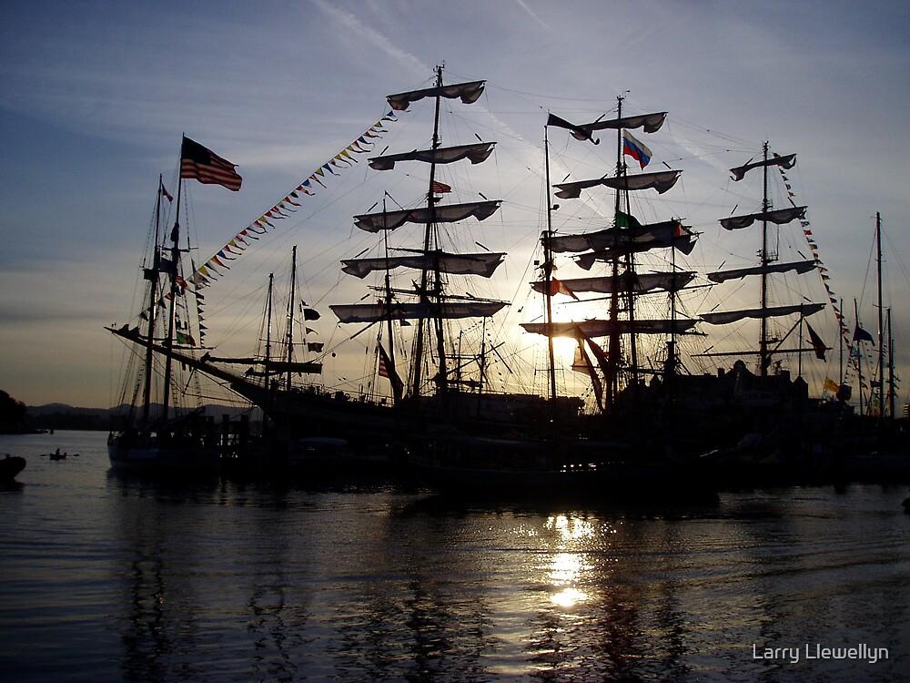 Tall Ship... by Larry Llewellyn