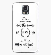 Thomas Barrow quote Case/Skin for Samsung Galaxy