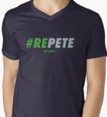 REPETE Mens V-Neck T-Shirt