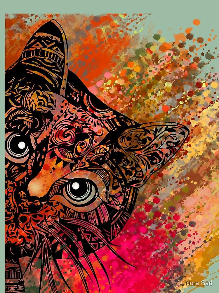 Cat Mandala de NoraMohammed