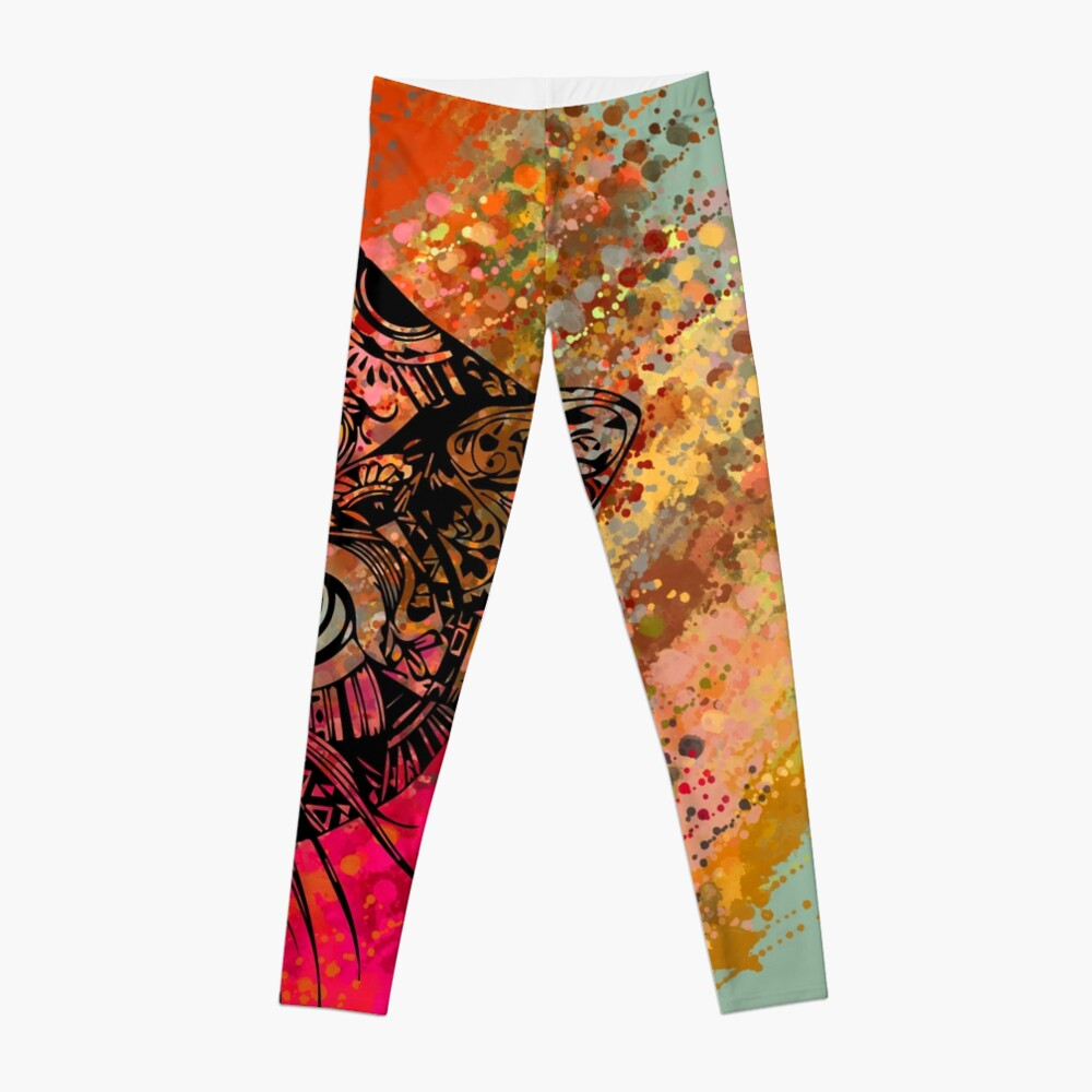 Cat Mandala Leggings