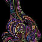 Color rabbit by marina-arts