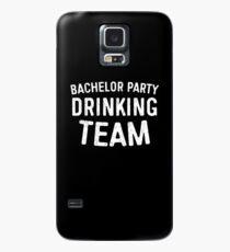 Jungesellen-Party-trinkendes Team Hülle & Klebefolie für Samsung Galaxy