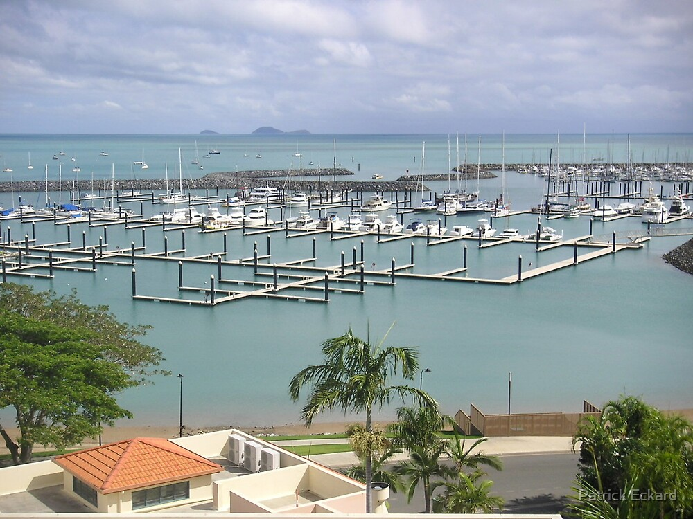 Airlie Beach harbour by Patrick Eckard