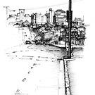 Paddington Streetscape by Tony Gillan