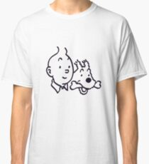 Tintin And Milou Merchandise Classic T-Shirt