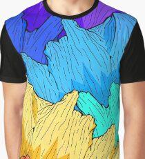 Rainbow Mountains Graphic T-Shirt