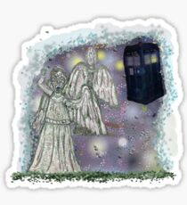 Don't blink weeping angels Sticker