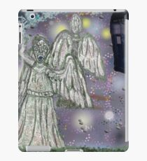 Don't blink weeping angels iPad Case/Skin