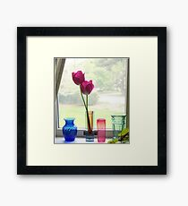 Looking Out - 2390 views as of 8/5/17 Framed Print