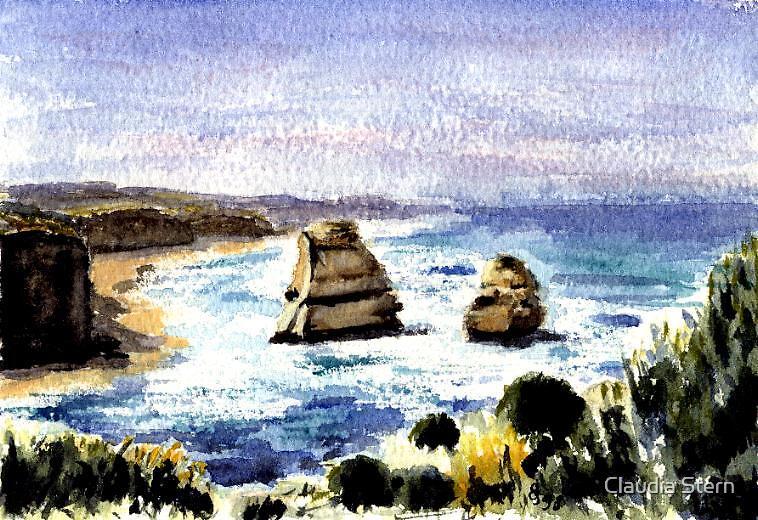 Great Ocean Road by Claudia Stern