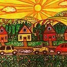 Sunset Drive by Monica Engeler
