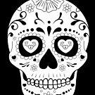 Day of the Dead Skull by sebi01