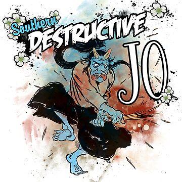 Southern Destructive Jo by AllenWinchester