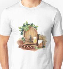 Watercolor octoberfest design T-Shirt