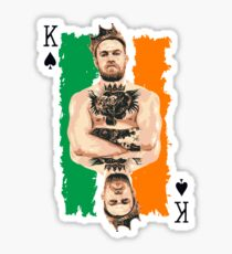 The King Conor Mcgregor Sticker