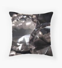 Diamonds 'n Pearls Throw Pillow