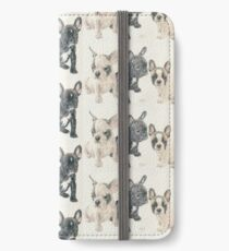 French Bulldog Puppies iPhone Wallet/Case/Skin