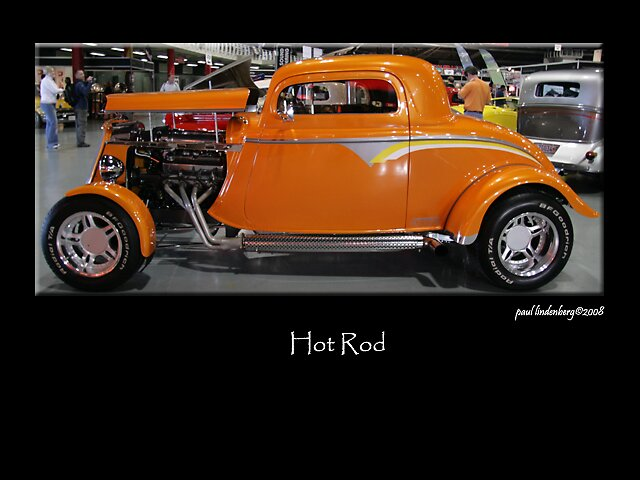 The Hot Rod Series 4 by Paul Lindenberg