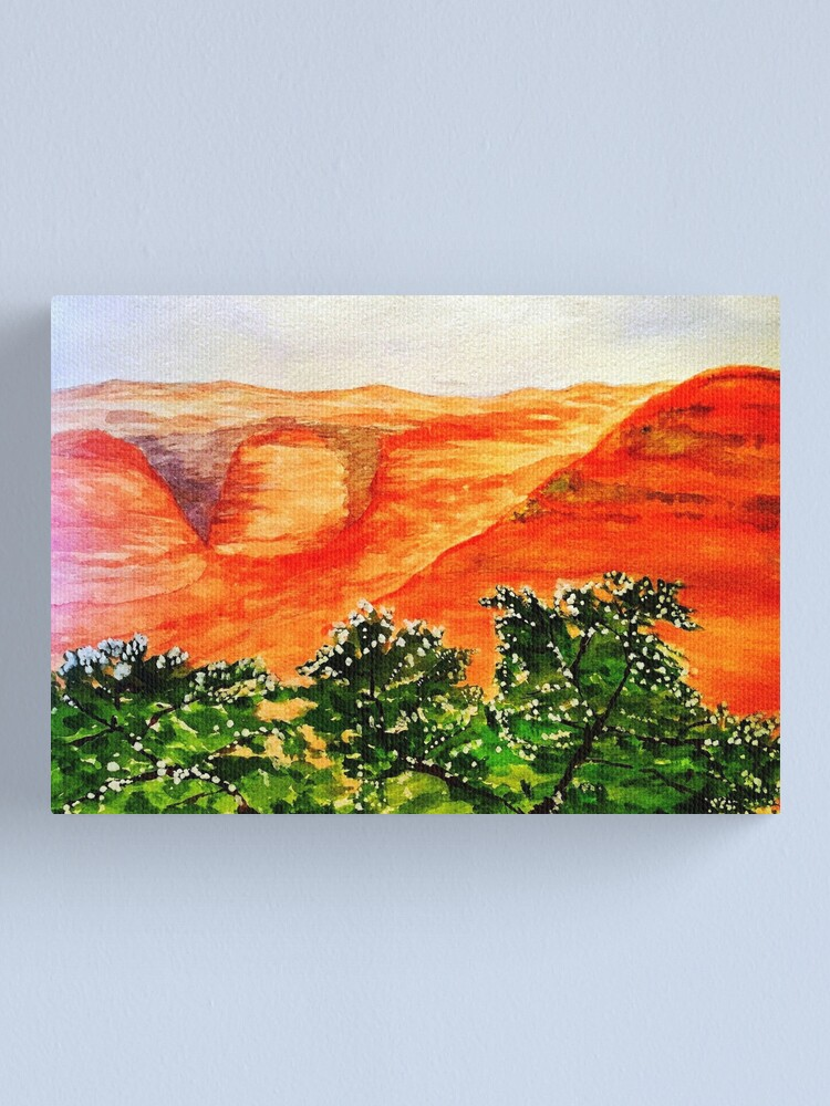 Alternate view of Canyon Canvas Print