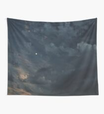 Clouds and the Moon Wall Tapestry