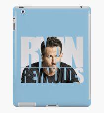 Ryan Reynolds iPad Case/Skin