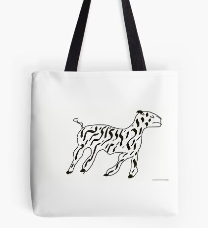 RUNNING ZEBRA Tote Bag