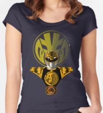 THE WHITE RANGER Women's Fitted Scoop T-Shirt