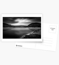 Cloud phoenix Black and White Postcards