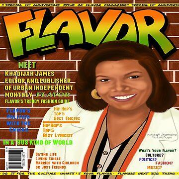 Flavor Mag Khadijah James by ADopeWorld