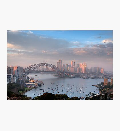 Watercolours - Moods Of A City #37 - The HDR Series , Sydney Australia Photographic Print