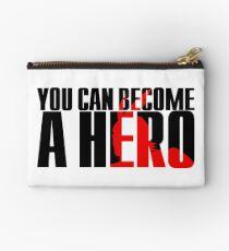 Boku No | My Hero Academia / MHA - You Can Become a Hero (Black) Studio Pouch