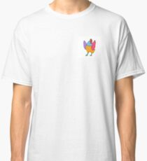 dancing chicken (black outline) Classic T-Shirt