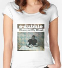 e-dubble - Changed My Mind Album Art Women's Fitted Scoop T-Shirt