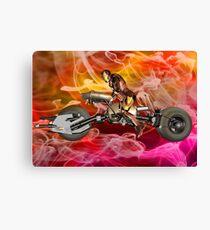 Machine Ghost Rider Canvas Print