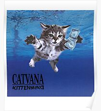 Catvana in nirvana kittenmind Poster